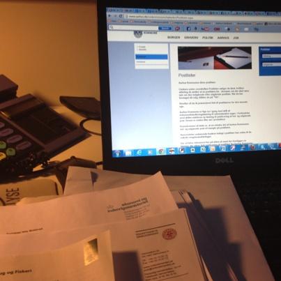 Postlisteforsøg bliver amputeret af Justitsministeriet. FOTO: Nils Mulvad.